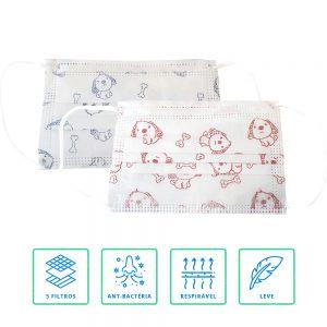 Máscara Proteção Criança